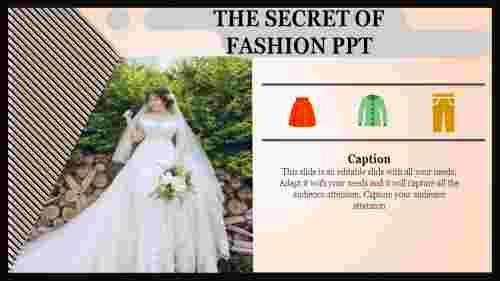 fashion ppt templates-The Secret of FASHION PPT